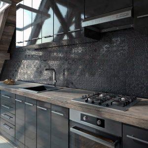 Cocina azulejos fritta